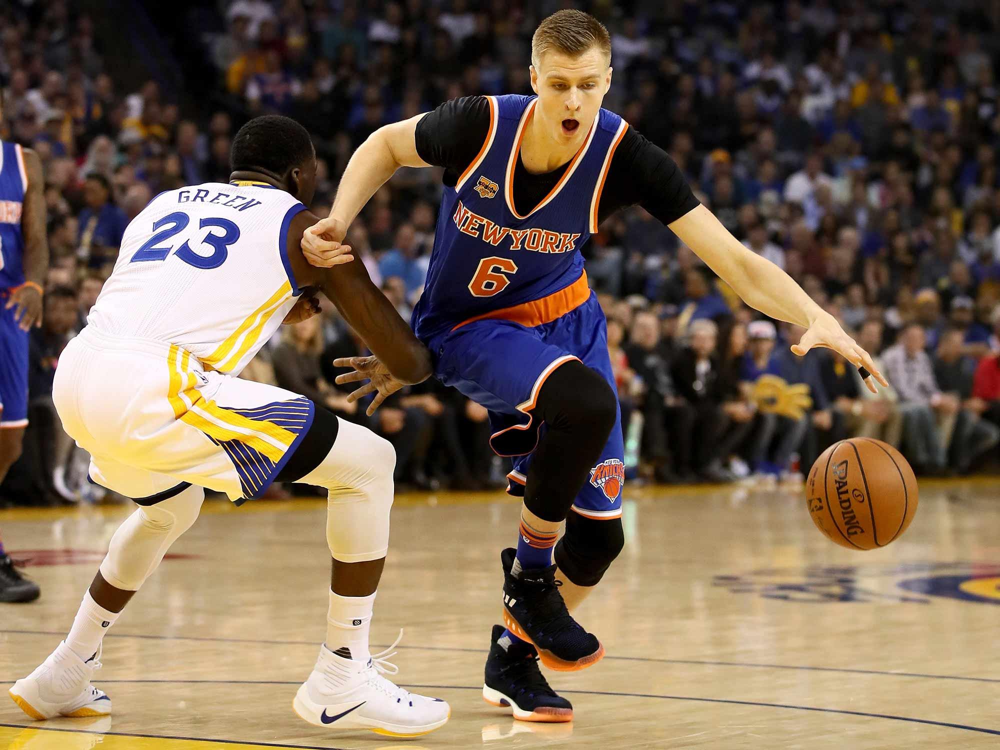 NBA All-Star Voting  Kristaps Porzingis Tops Worthy First-Timers ... 2da220608
