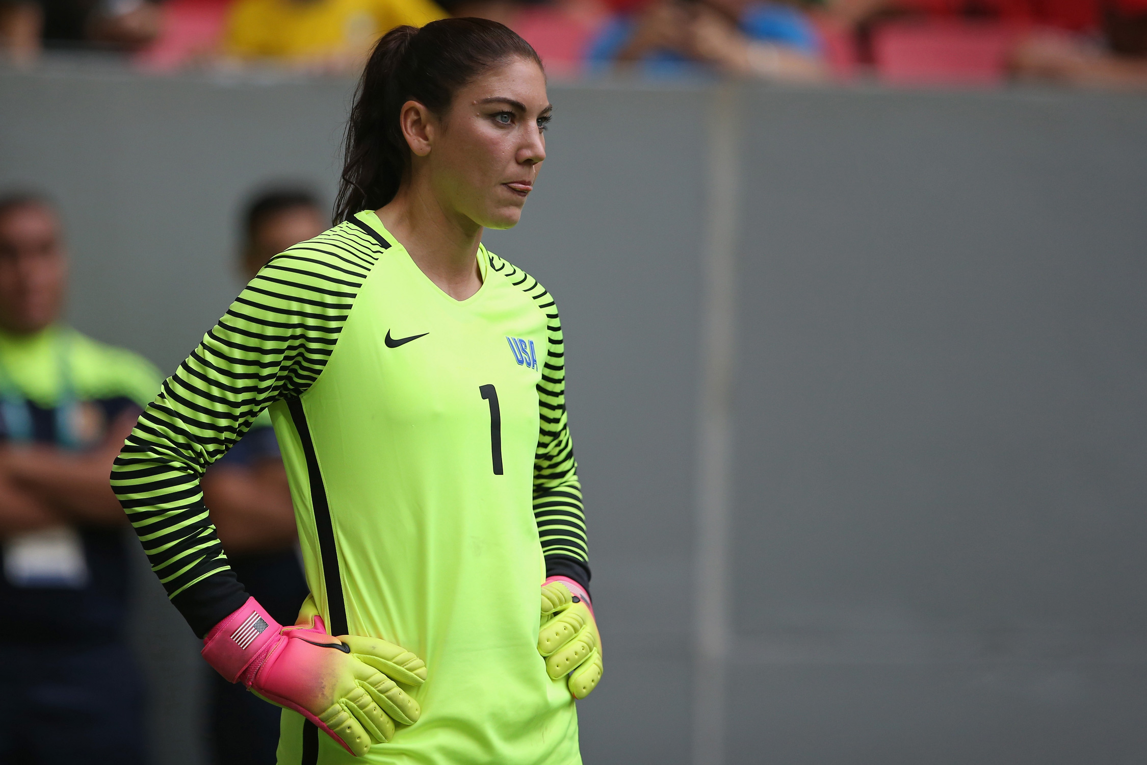 "Following the USWNT's Olympic loss to Sweden, Hope Solo lashed out at the opposition, calling them ""cowards"" and drawing the ire of U.S. Soccer. The incident pushed the federation over the edge, and it terminated the goalkeeper's contract."