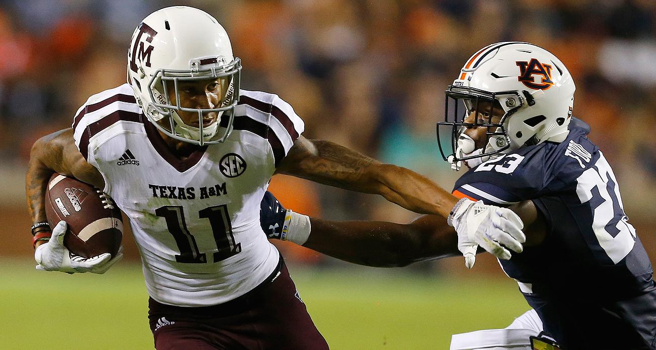 Texas A&M wide receiver Josh Reynolds