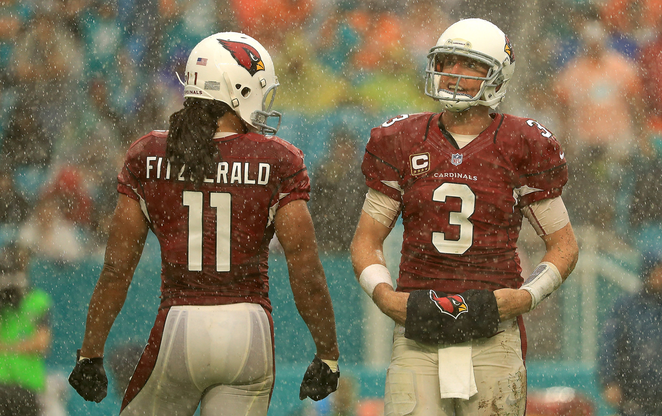 Are we watching the end of Carson Palmer and Larry Fitzgerald playing together in Arizona?