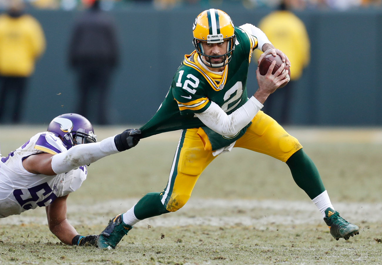 Nobody is playing better football right now than the Packers and Aaron Rodgers, who hasn't thrown an interception since Nov. 13.