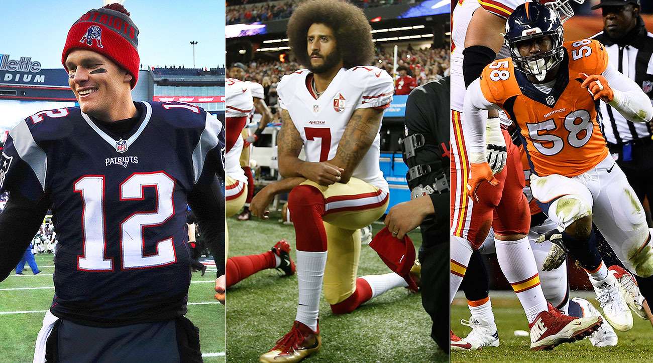 2016 NFL season's defining players: Tom Brady, Von Miller, Colin Kaepernick