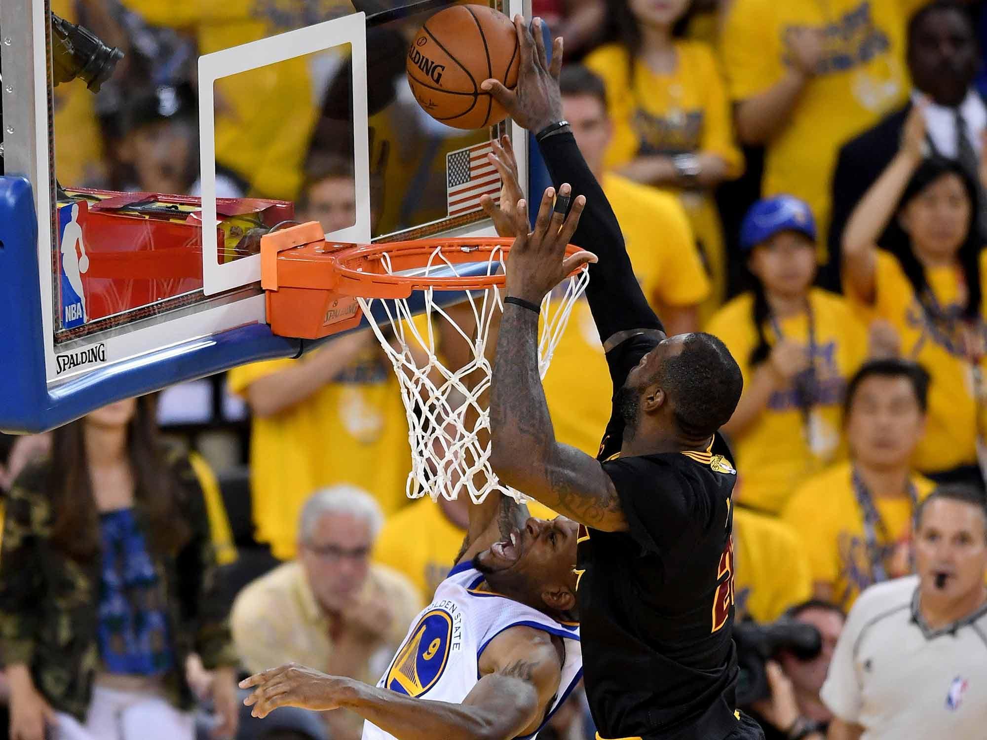 NBA In 2016: Kobe's Farewell, LeBron's Block Top Best Moments | SI.com