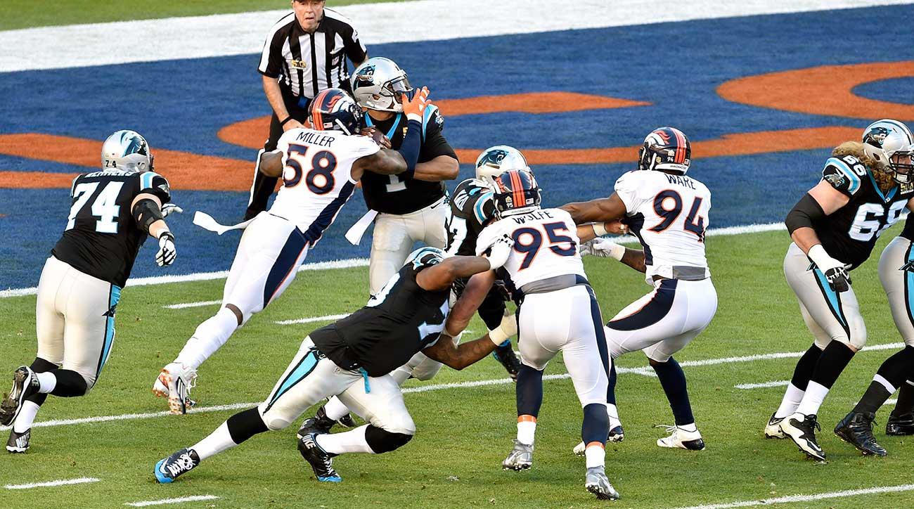 The spotlight leading up to Super Bowl 50 zoomed in on the quarterbacks—the  regular-season MVP e2ae376c5