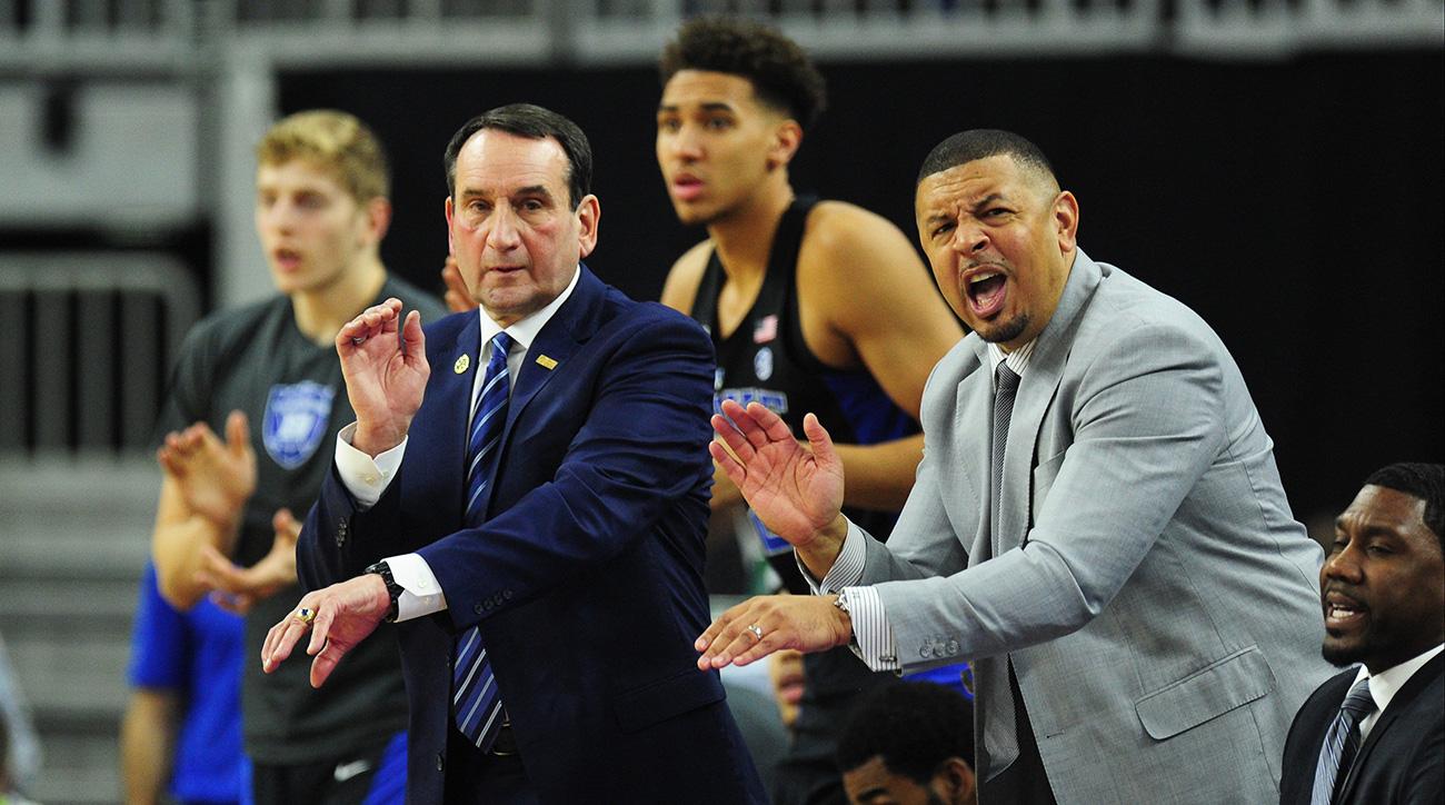 Coach K, Jeff Capel