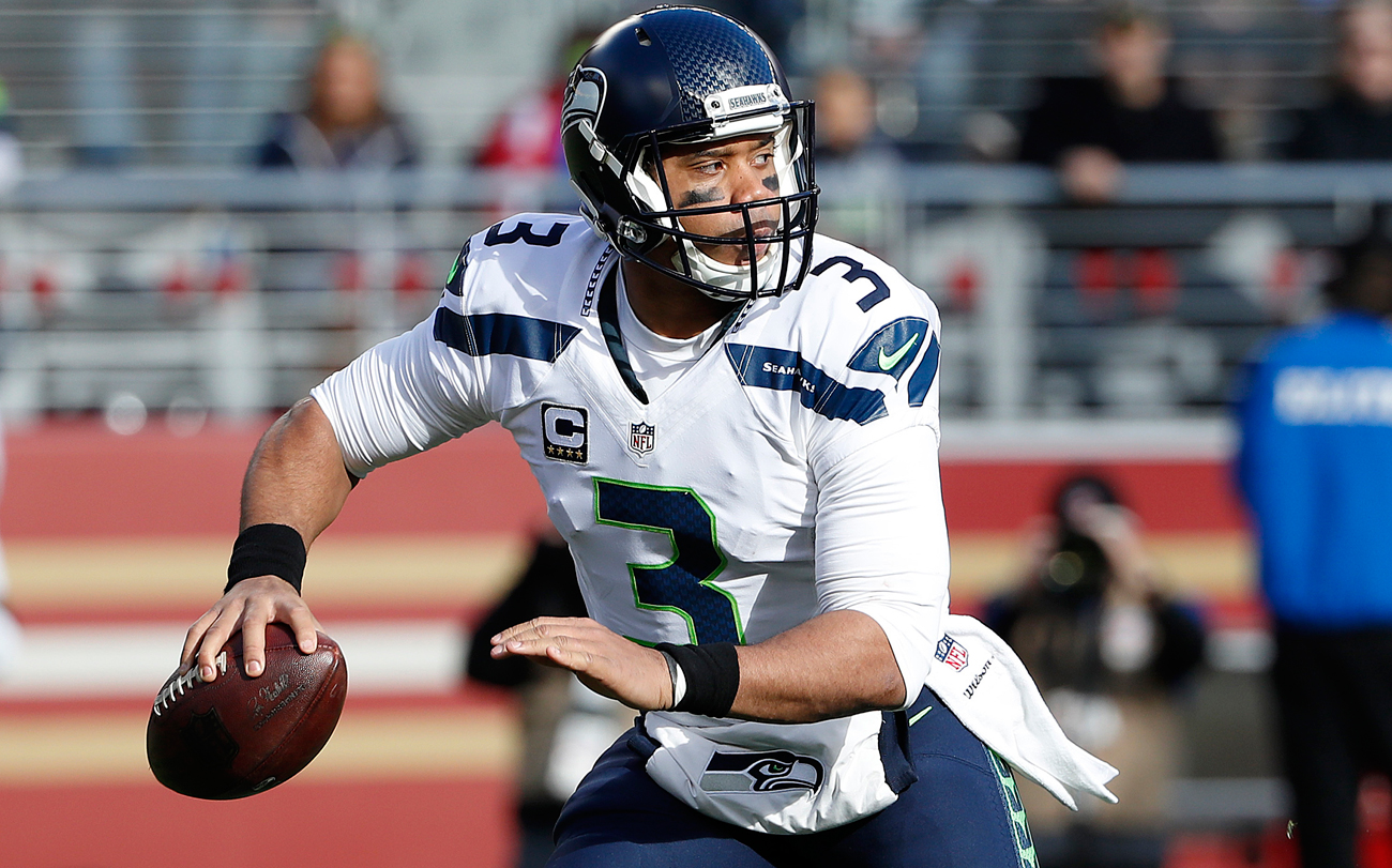 Russell Wilson has led Seattle to the playoffs in each of his first five NFL seasons.