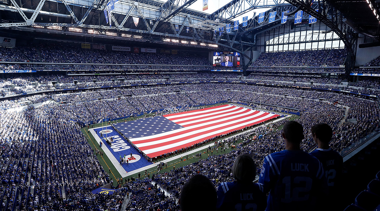 Watch A Legally Blind Colts Fan Sees His First Game