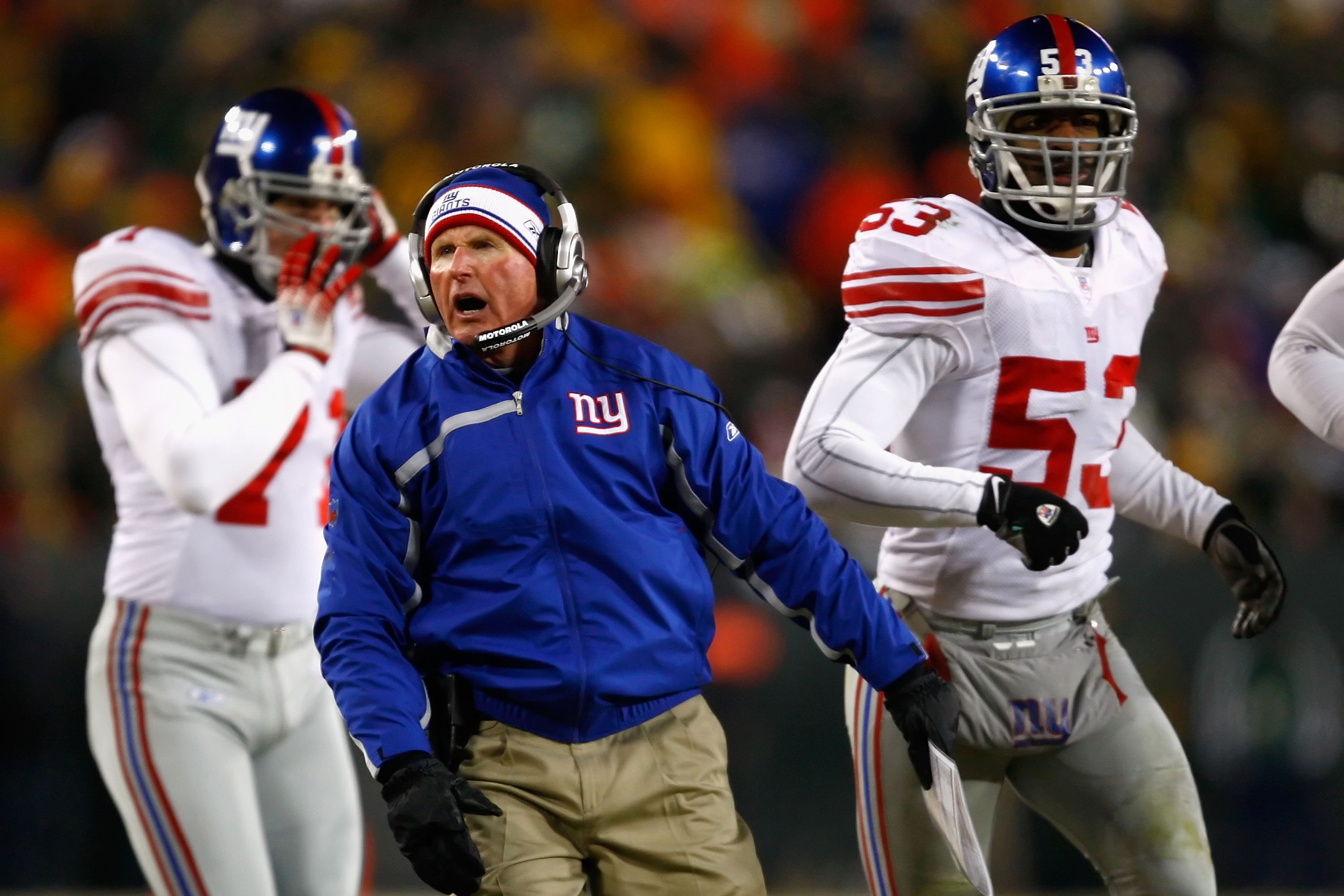 Giants-Packers: Oral history of Tom Coughlin's face