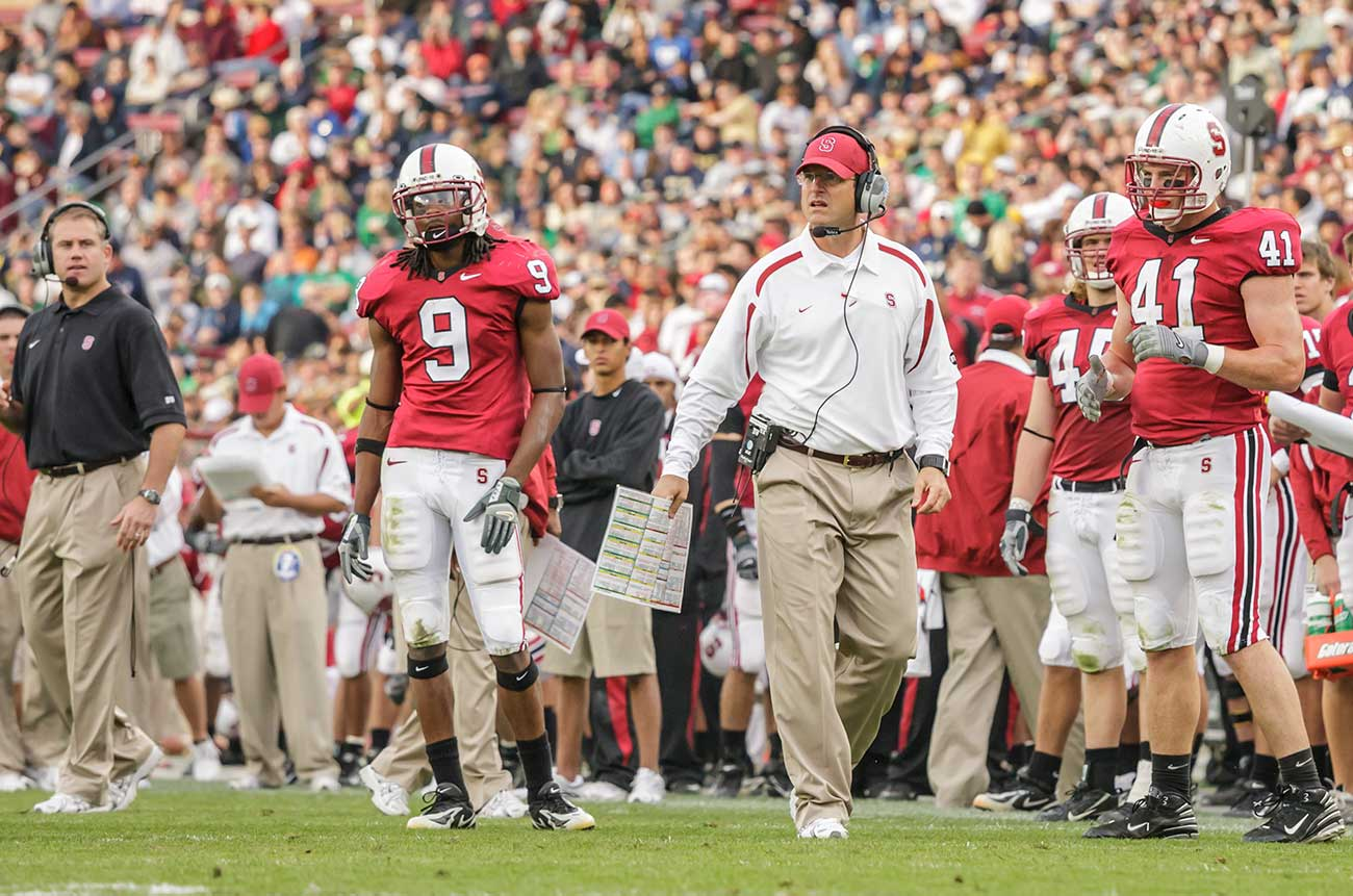 Headstrong x 2: Sherman and Harbaugh at Stanford.