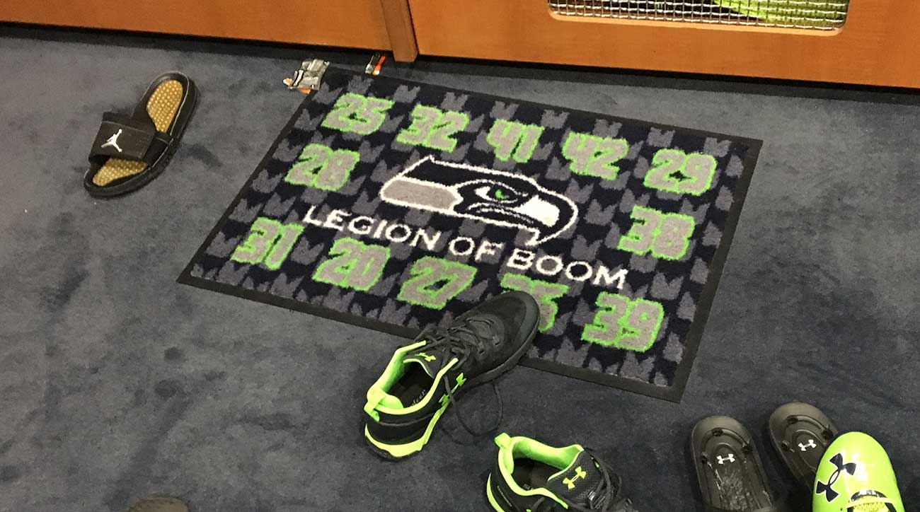 The Legion of Boom carpet accompanies Sherman on the road, but many of its original members have moved on.