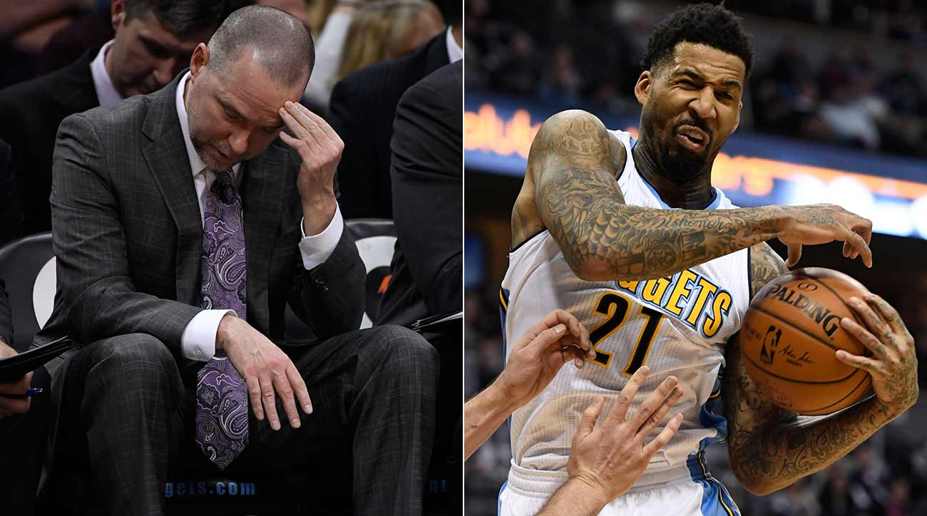 Michael Malone and Wilson Chandler