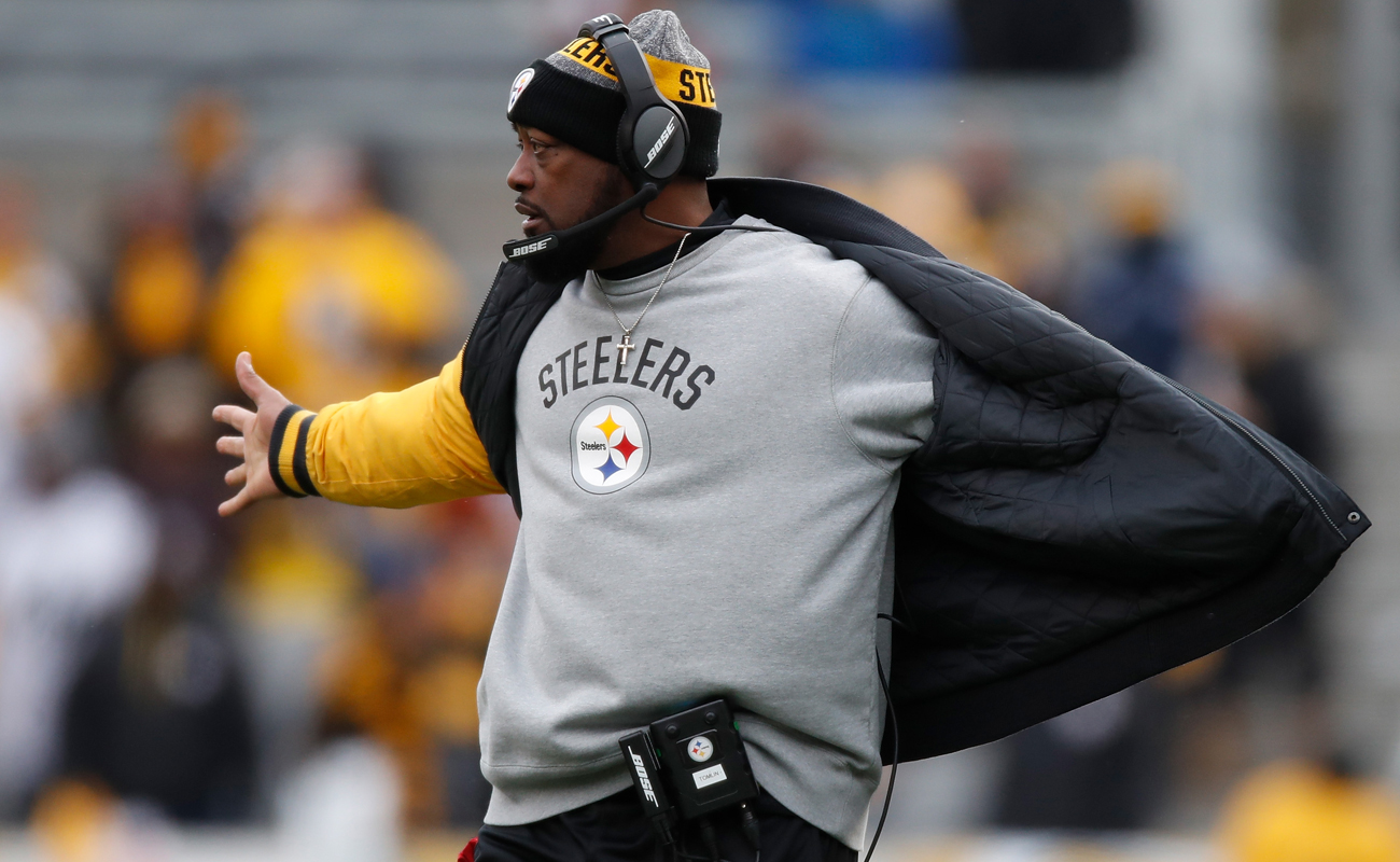 Mike Tomlin is now 12-6 in the playoffs over his 10 seasons as Steelers head coach.