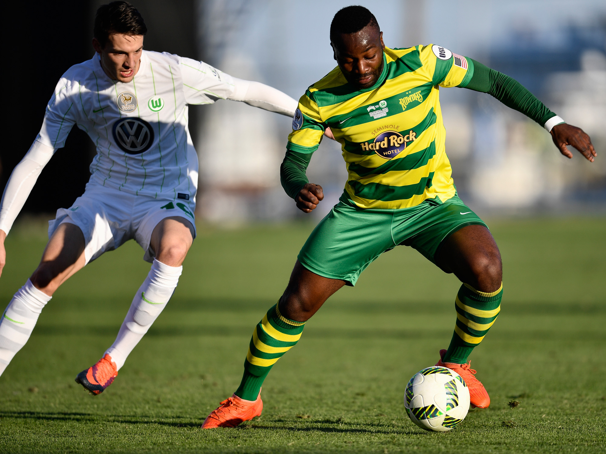 The Tampa Bay Rowdies are hoping to join MLS