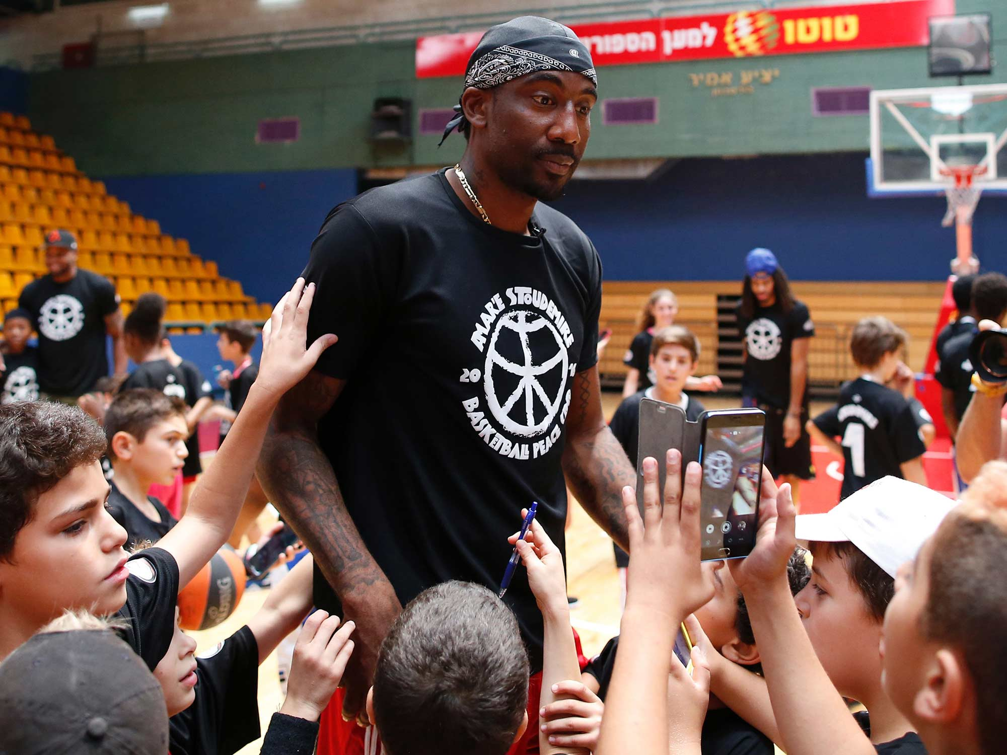 Amar e Stoudemire In Israel Fresh Start In The Old City