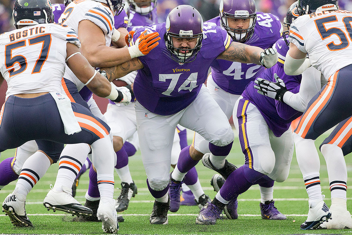 As mentioned in Clary's blurb, Johnson holds the most starts for any sixth-round tackle drafted from 2000 on. As with Clary, Johnson also shifted inside to a guard spot—he played there in 2012–14 before his career fizzled out with the Vikings. Spanning time in both Minnesota and Indianapolis, Johnson started 104 out of a possible 112 games during his final seven seasons.