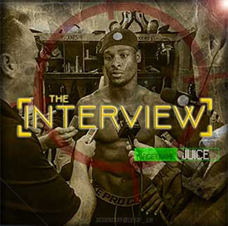 The cover art for Le'Veon Bell's first album, The Interview, released on SoundCloud.
