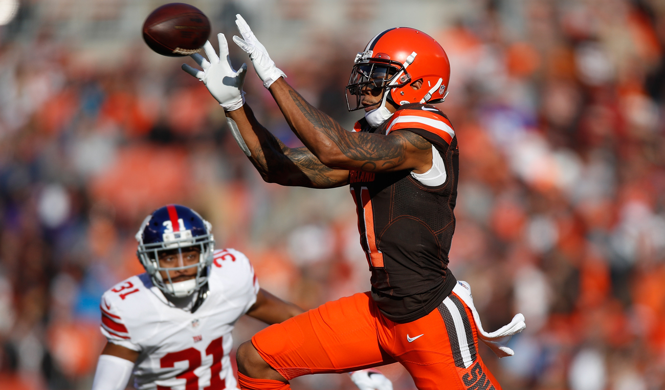 Terrelle Pryor might test the free-agent market after his 77-catch, 1,007-yard season with the Browns.