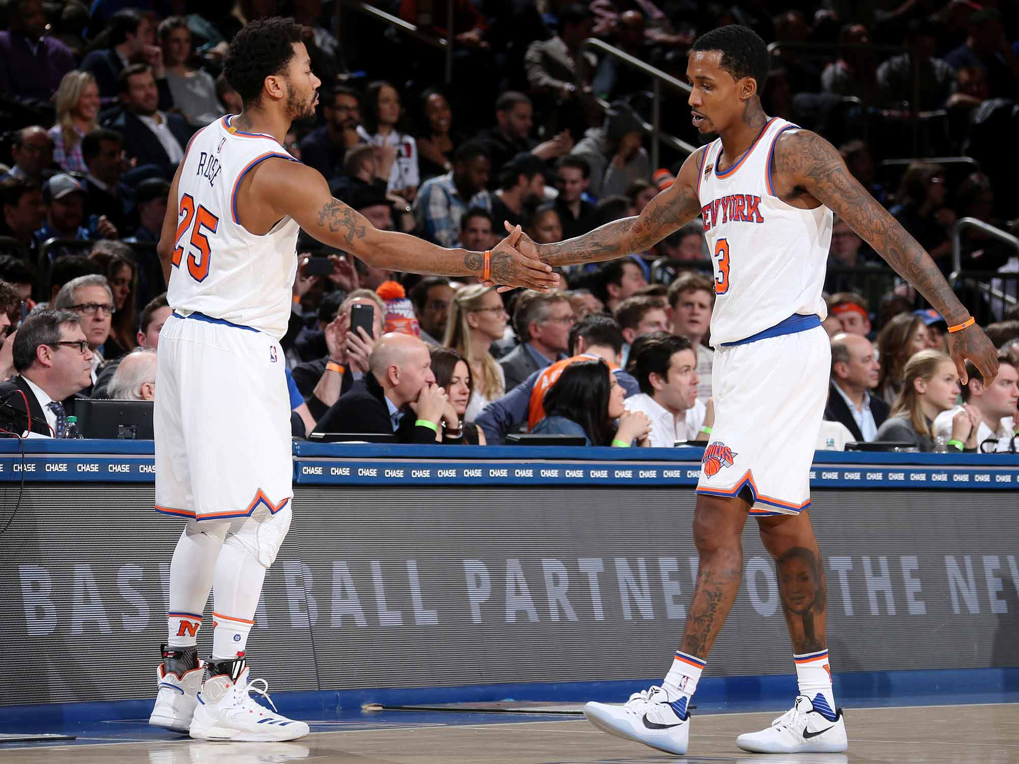217cfd0db50c Derrick Rose And The Knicks  A Strange Mess