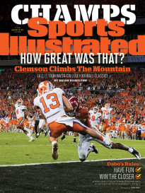 Clemson Tigers Sports Illustrated Covers Buy Them Here