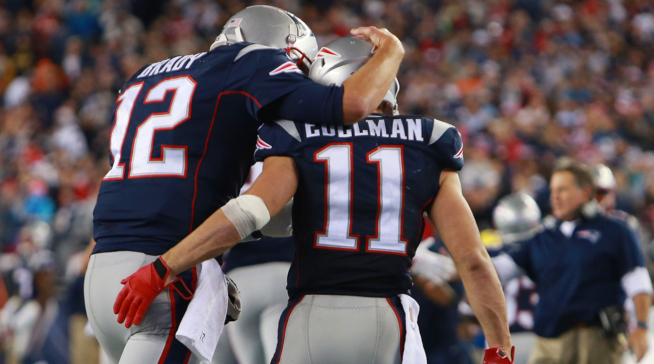 Julian Edelman attributes a good amount of his NFL success to his relationship with Brady.