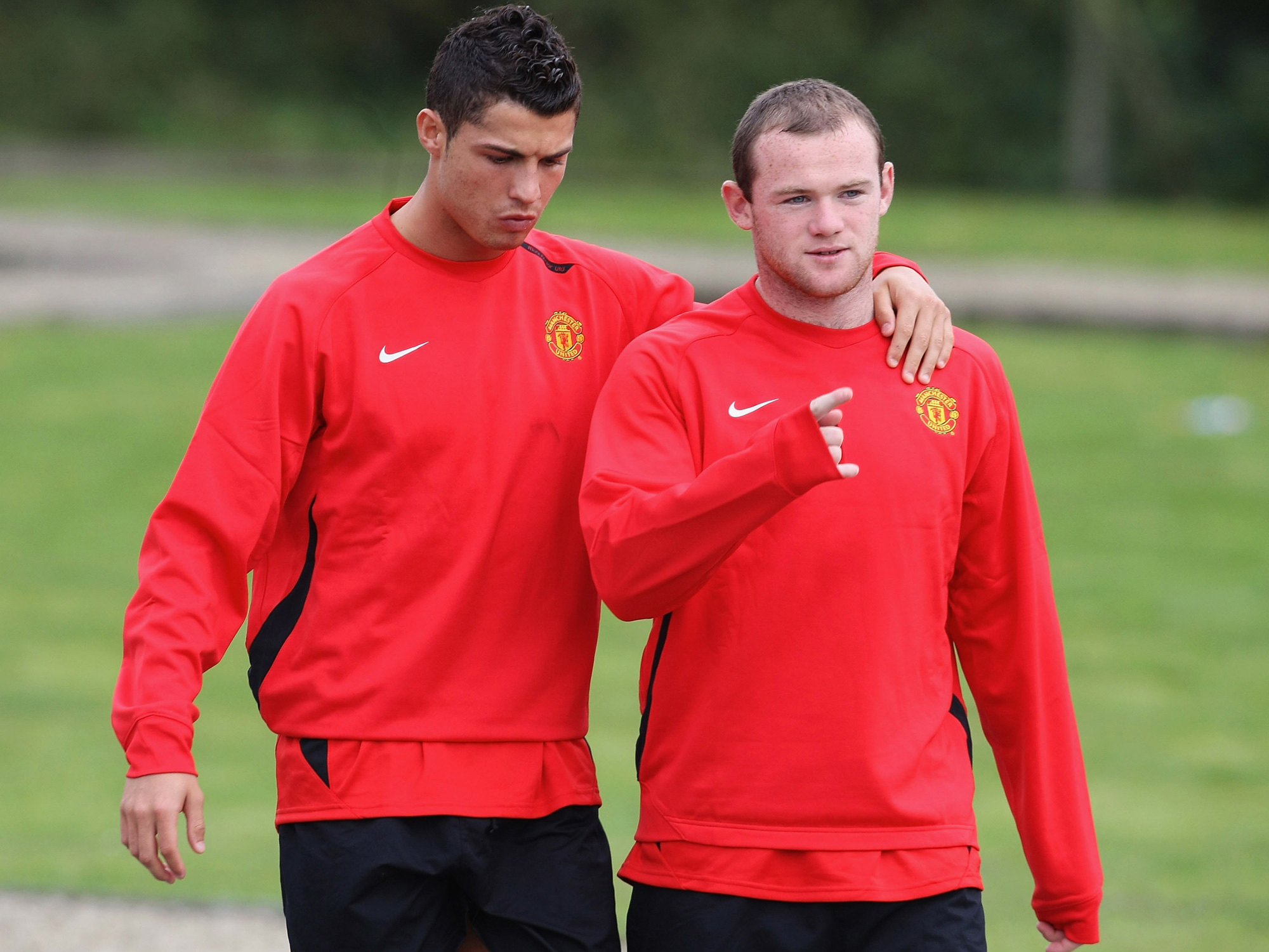 Wayne Rooney and Cristiano Ronaldo once formed a lethal tandem for Manchester United