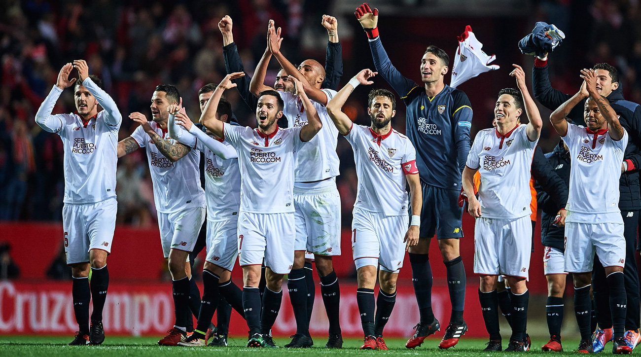 Sevilla ends Real Madrid's 40-game unbeaten streak