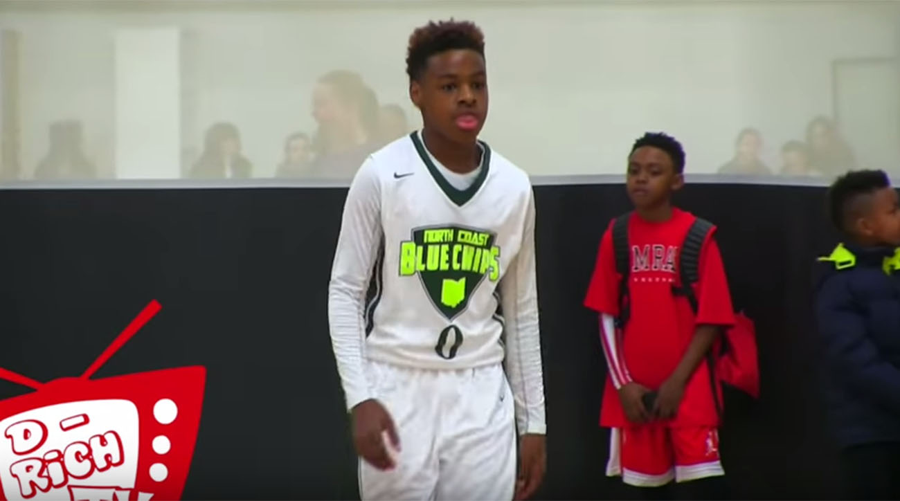 98efb6d4833b8 Watch  LeBron James Jr. is really good at basketball
