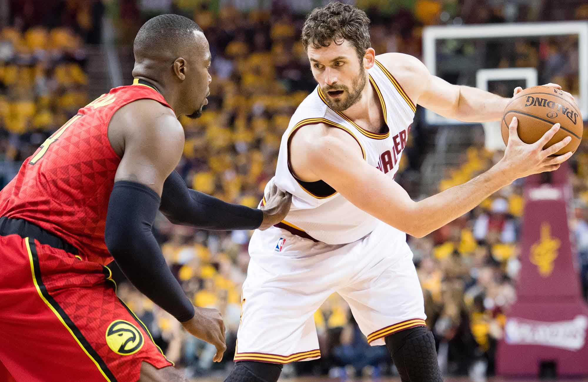 Kevin Love and Paul Millsap