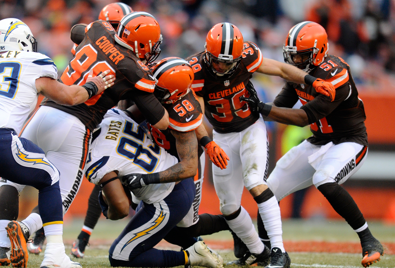 The Browns defense, which ranked 31st in total defense in 2016, will be expected to take a significant step forward next season.