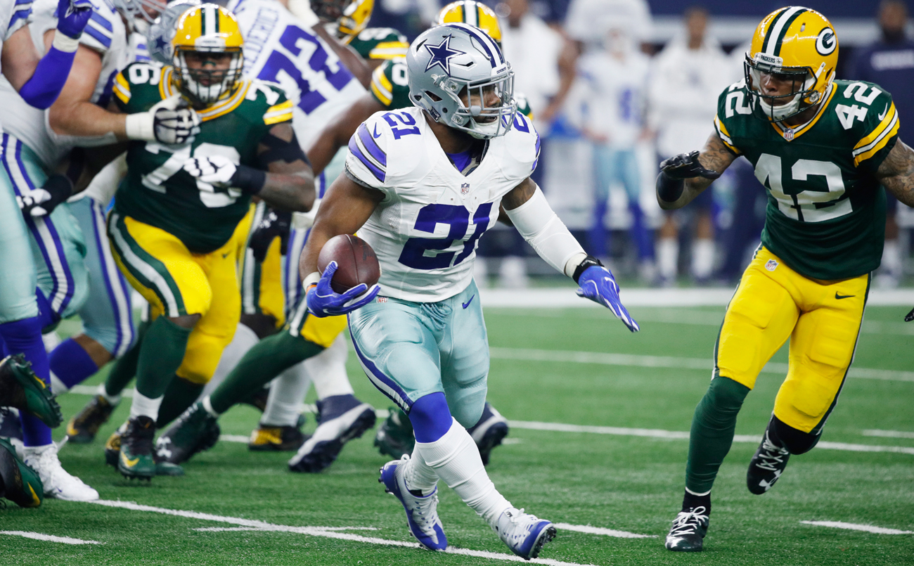 The immediate success of Ezekiel Elliott, coupled with a loaded running back draft class, could lead to an early run at the position in April.