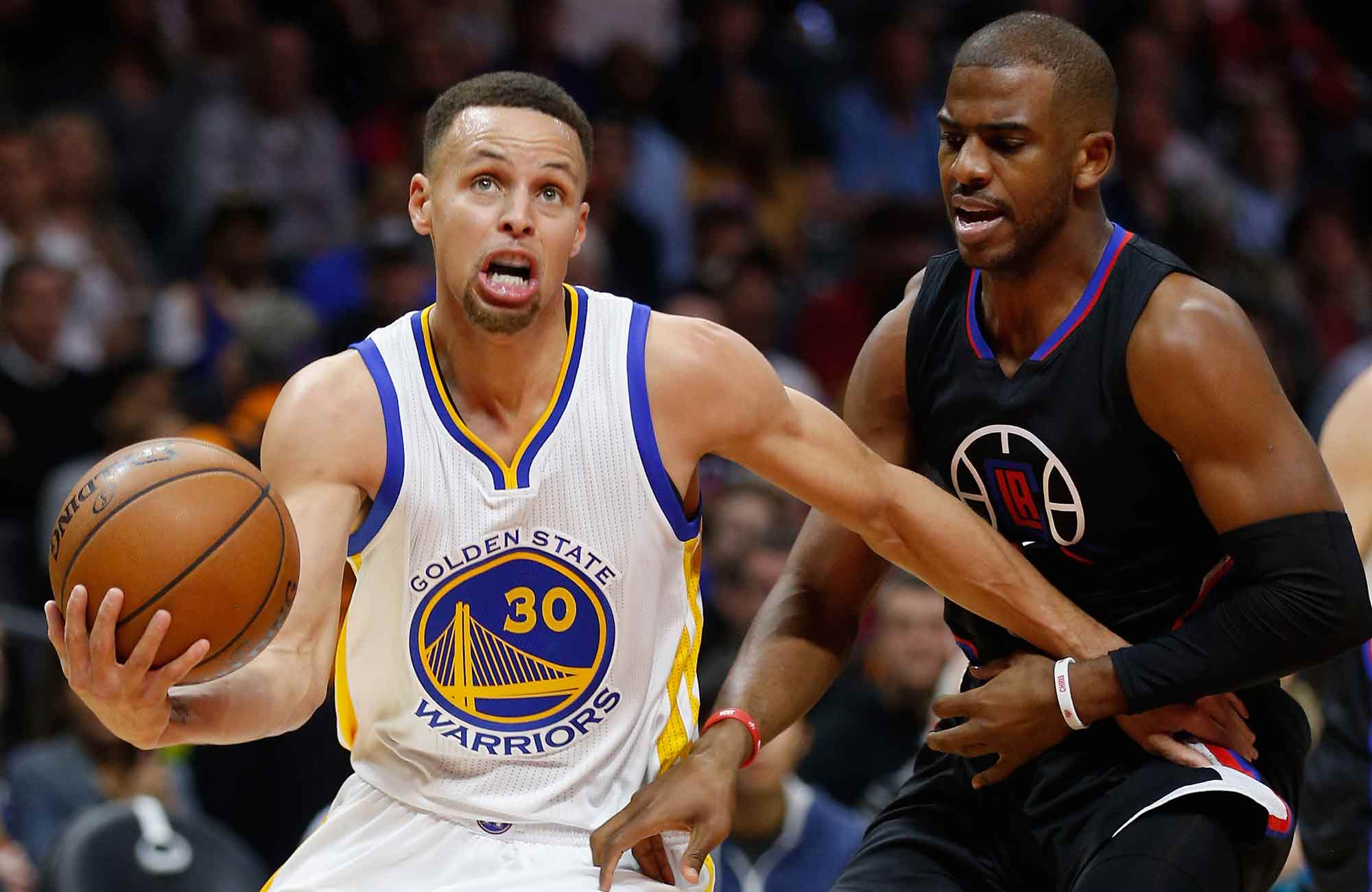 Steph Curry and Chris Paul