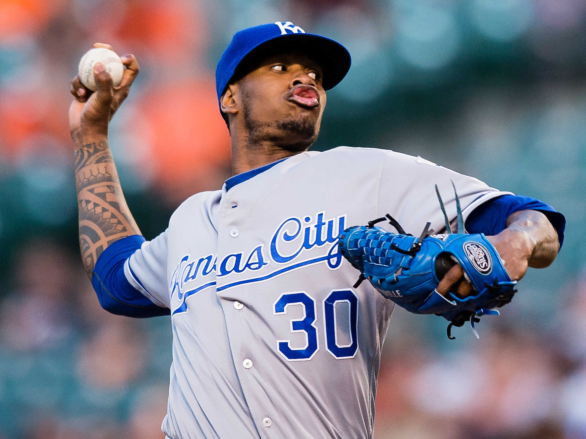Kansas City Royals Yordano Ventura