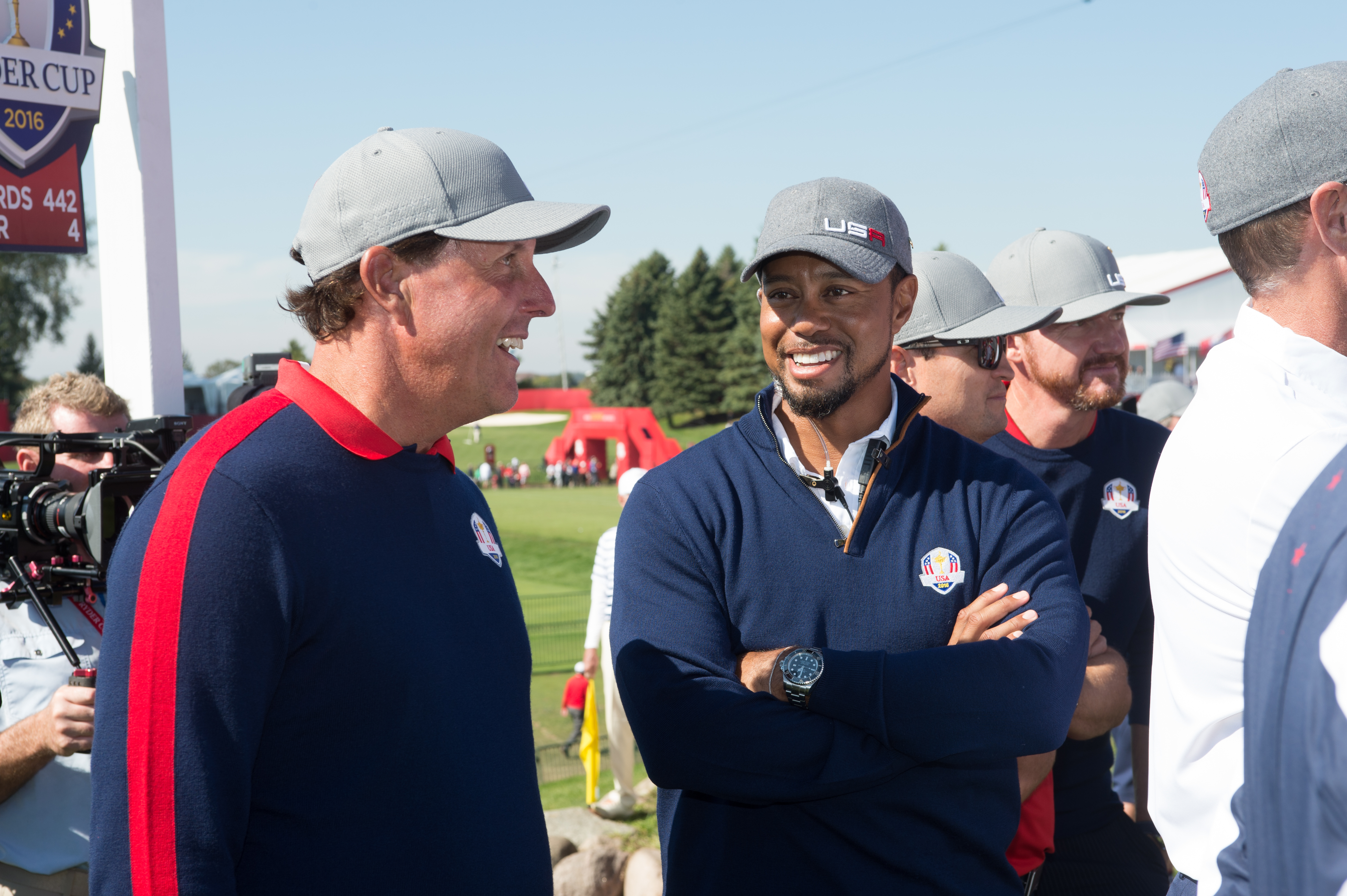 phil mickelson on how tiger woods has changed