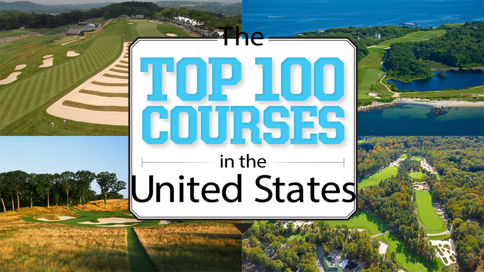 top 100 courses in the u.s.