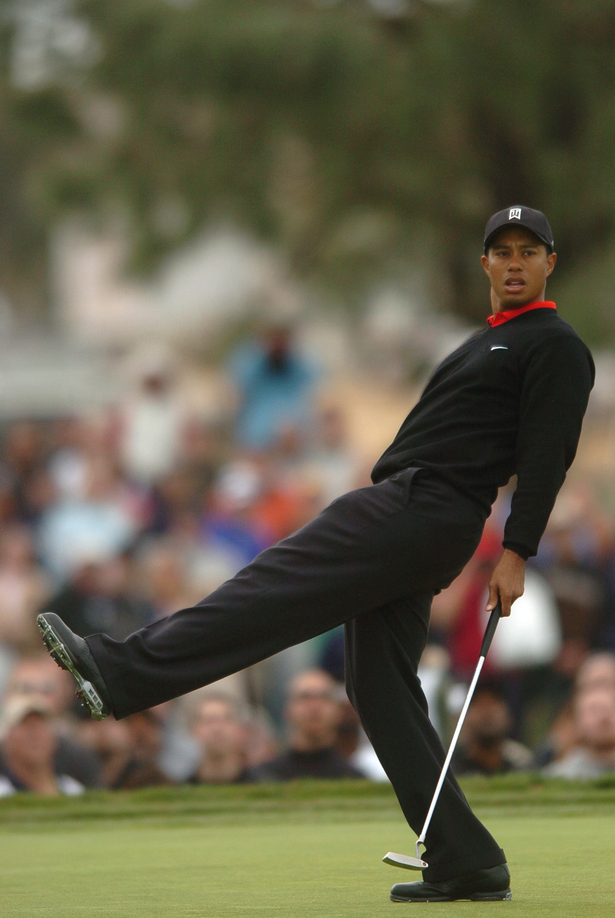 This was Tiger Woods' third-straight Buick Invitational win.