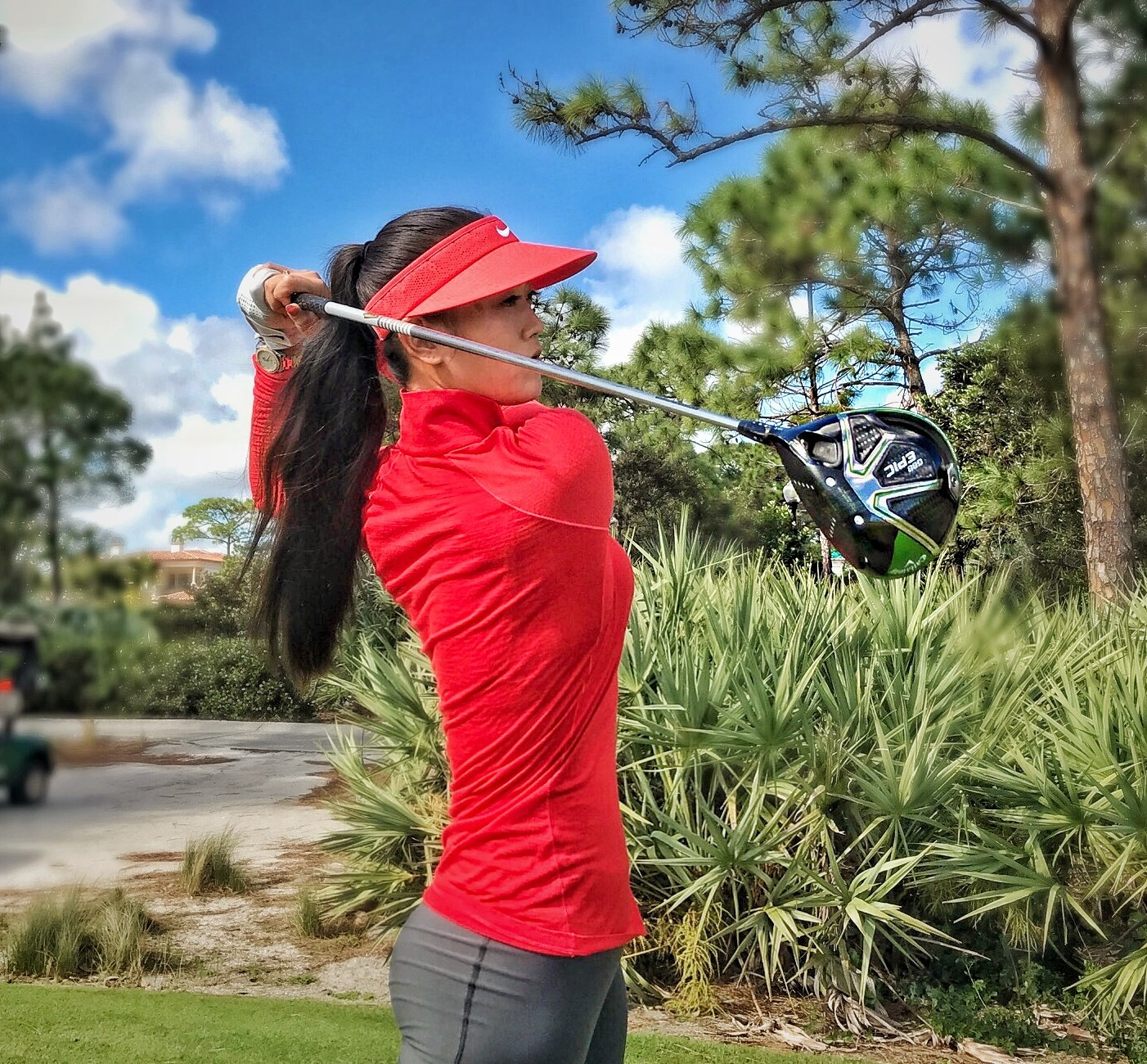 Michelle Wie has signed a deal with Callaway and will play their clubs and balls.