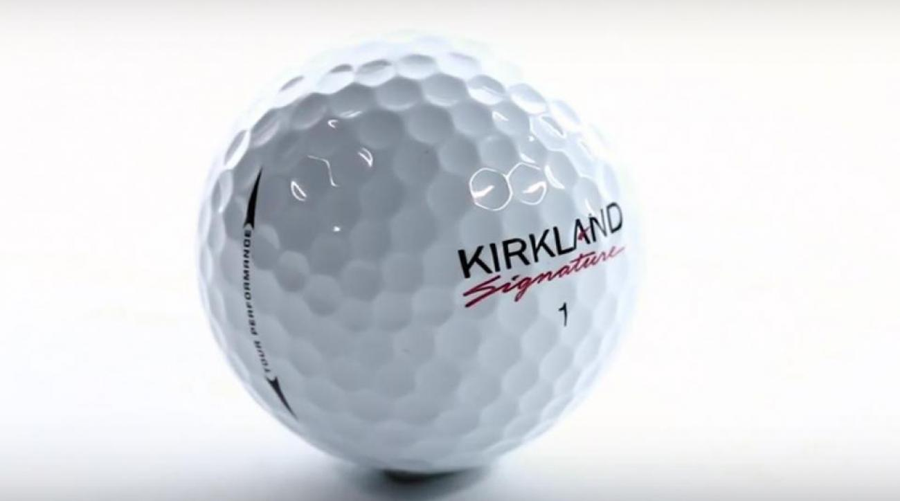 The Kirkland Signature golf ball.