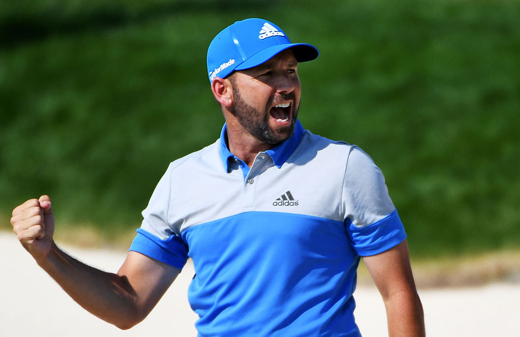 Sergio Garcia made a fan's dream come true yesterday by agreeing to bring him on as a caddie for one day later this year.