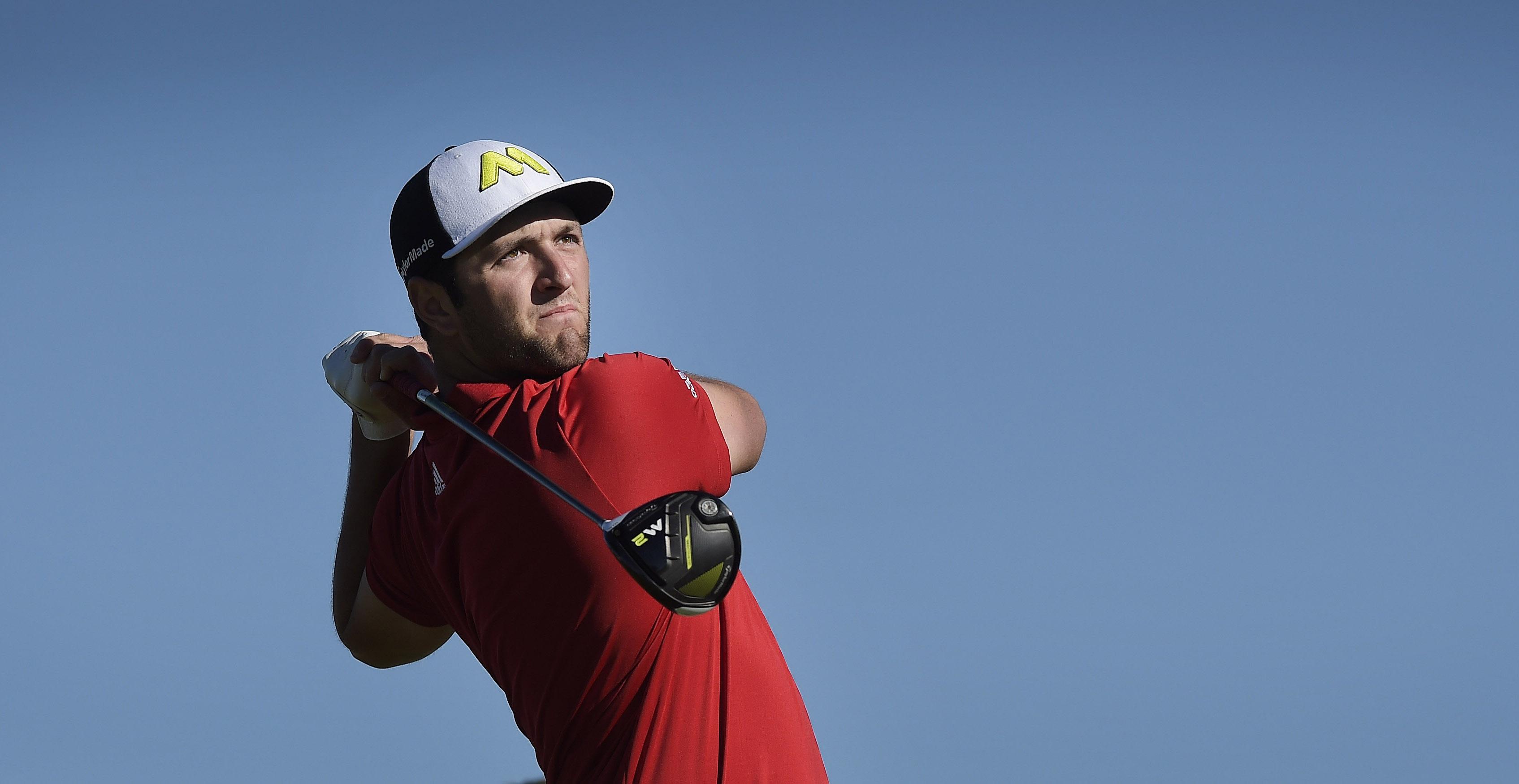Jon Rahm won his first career PGA Tour event Sunday at the Farmers Insurance Open.