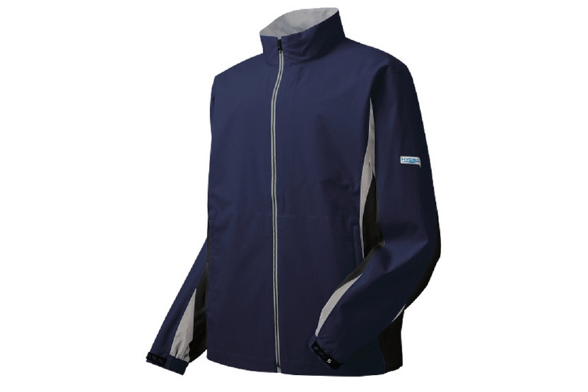 """This ultra-slick jacket from FootJoy is guaranteed waterproof for two years. Perfect for golfers who frequent windy or blustery courses. <a href=""""http://www.pgatoursuperstore.com/footjoy-hydrolite-mens-rain-jacket/500061012912.jsp?site_referrer=golf.com"""" target=""""blank"""">BUY NOW</a>"""