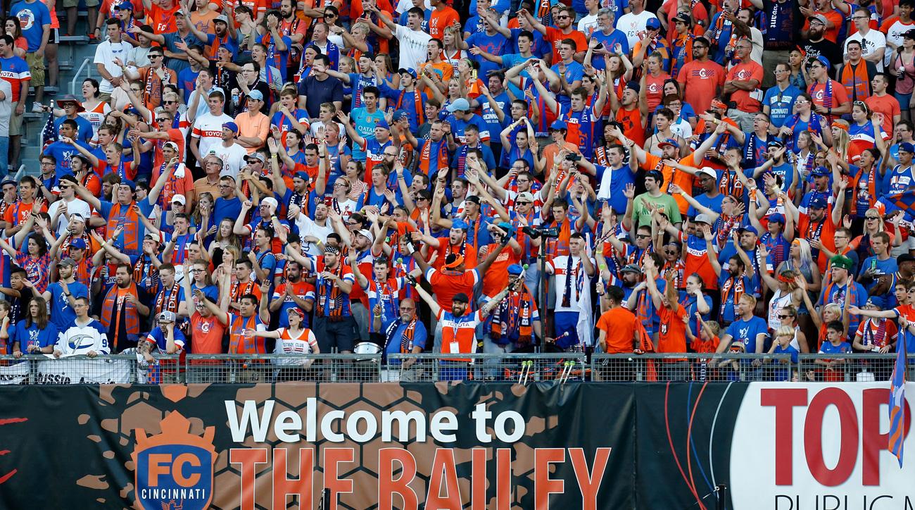 FC Cincinnati fans want an MLS expansion team
