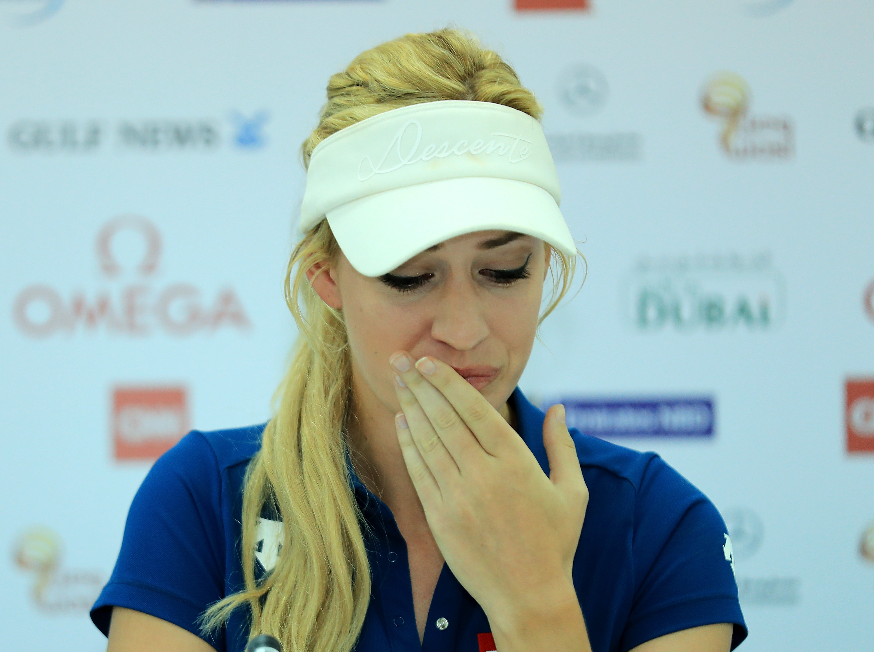 At the 2016 Omega Dubai Ladies Masters, Spiranac revealed that the controversy surrounding her career has taken a toll.