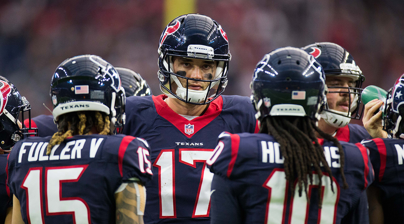 Brock Osweiler finished 2016 with more interceptions (16) than touchdowns (15), a 59.0 completion percentage and a 72.2 passer rating.