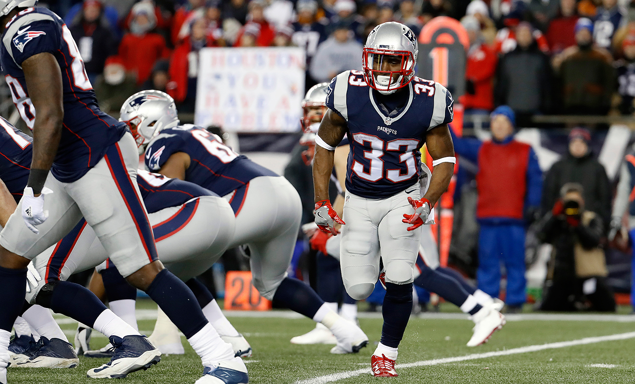 The Patriots' secret weapon? Dion Lewis could play a big role in the Super Bowl.