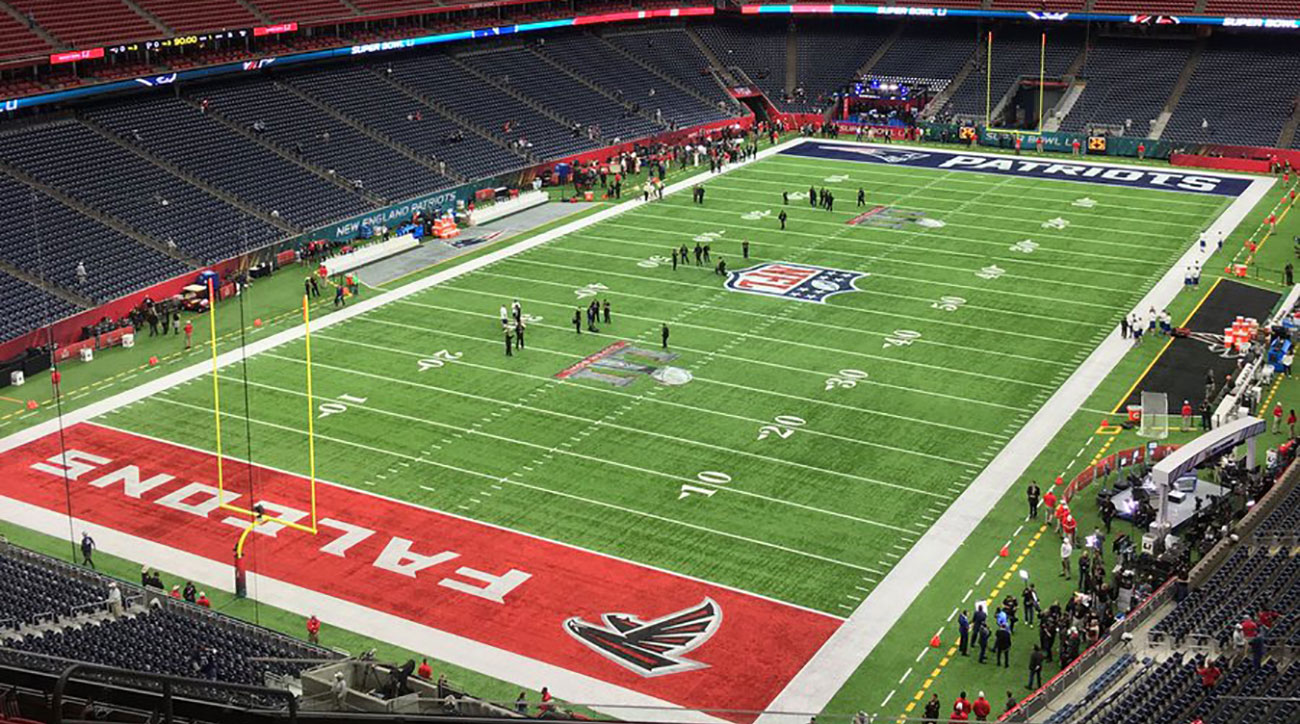 This is what the Super Bowl field looks like | SI.com