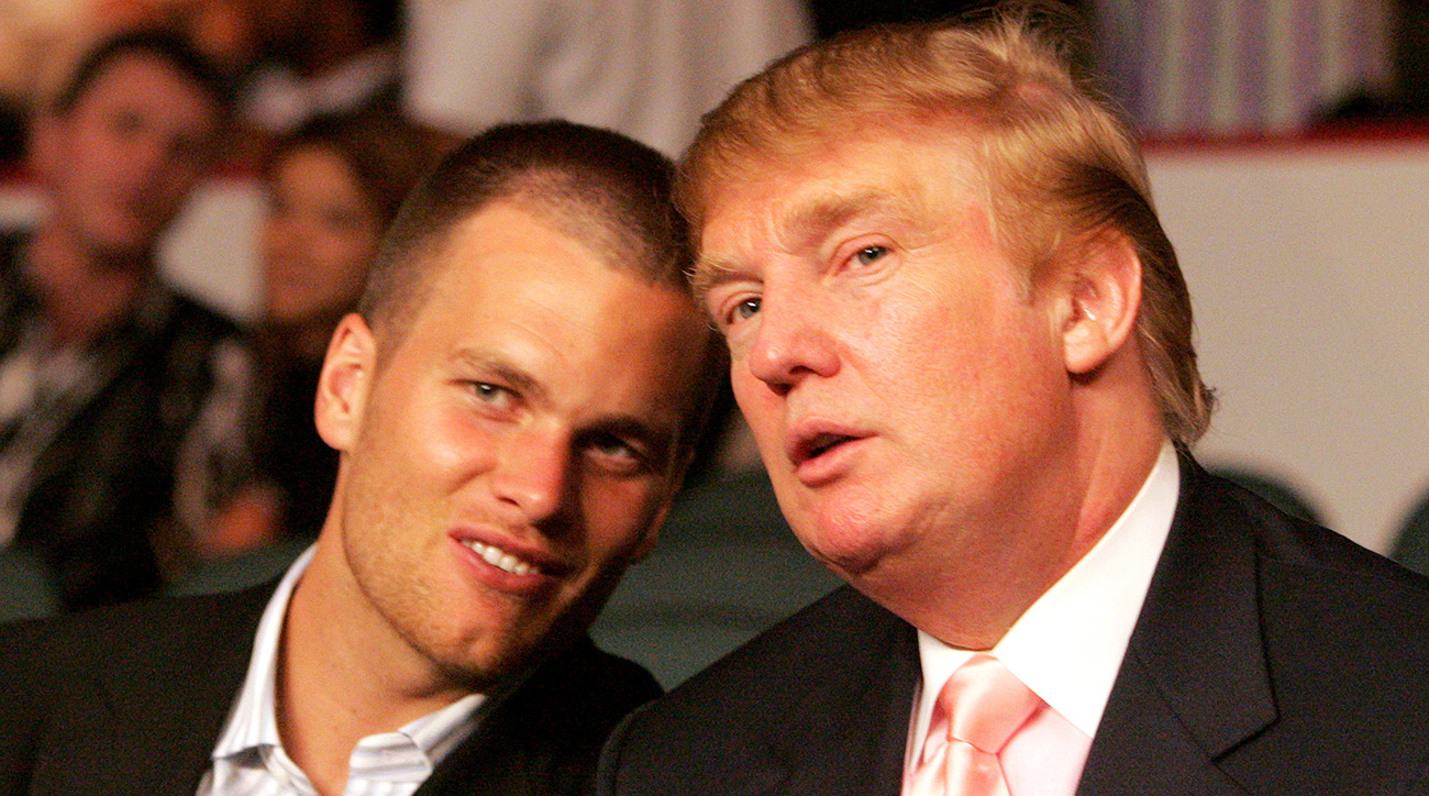 Donald Trump congratulated Tom Brady, Bill Belichick and the New England Patriots after their Super Bowl win.