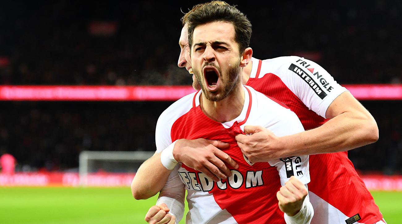 Bernardo Silva is leading Monaco's surge in Ligue 1