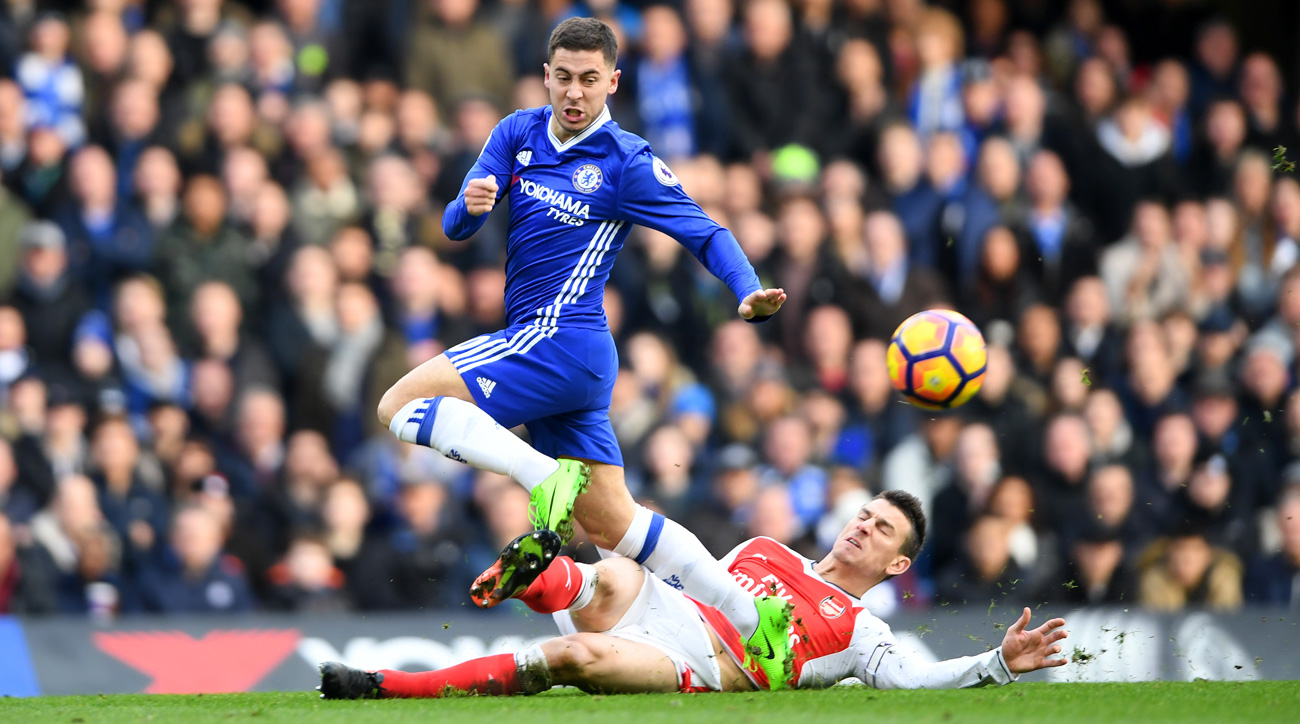 Eden Hazard scored an amazing goal for Chelsea vs. Arsenal