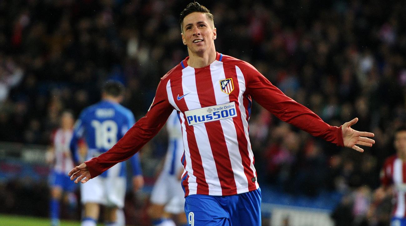 Fernando Torres scored two goals for Atletico Madrid vs. Leganes