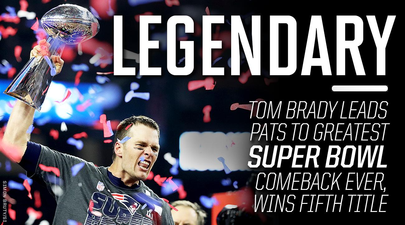 Patriots Super Bowl Champions 2017